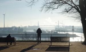 River Elbe view