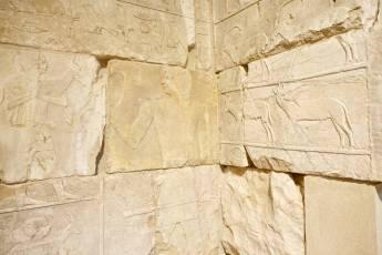 Neues Museum Egyptian stones