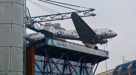 Deutsches Technikmuseum DC-3 rooftop