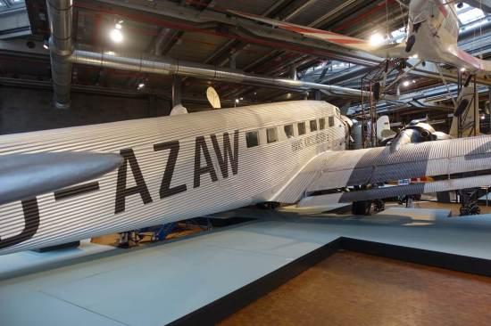 Deutsches Technikmuseum Lufthansa plane display