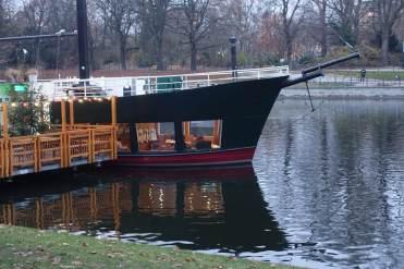 Kreuzberg boat cafe