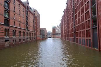 Speicherstadt canals