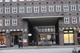 Chilehaus entrance detail