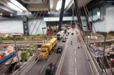 Miniatur Wunderland bridge scene