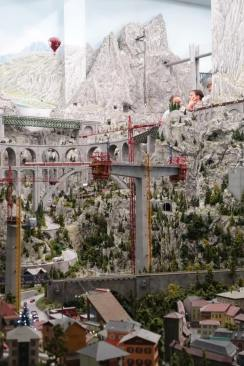 Miniatur Wunderland bridge construction