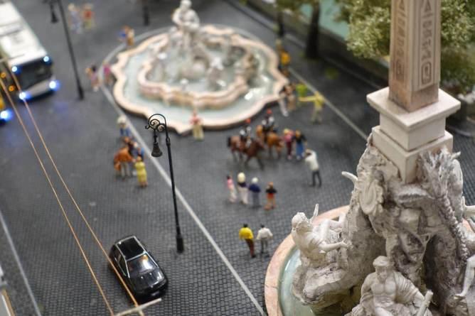 Miniatur Wunderland Rome fountain