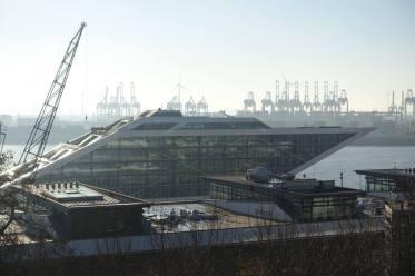 River Elbe ship architecture