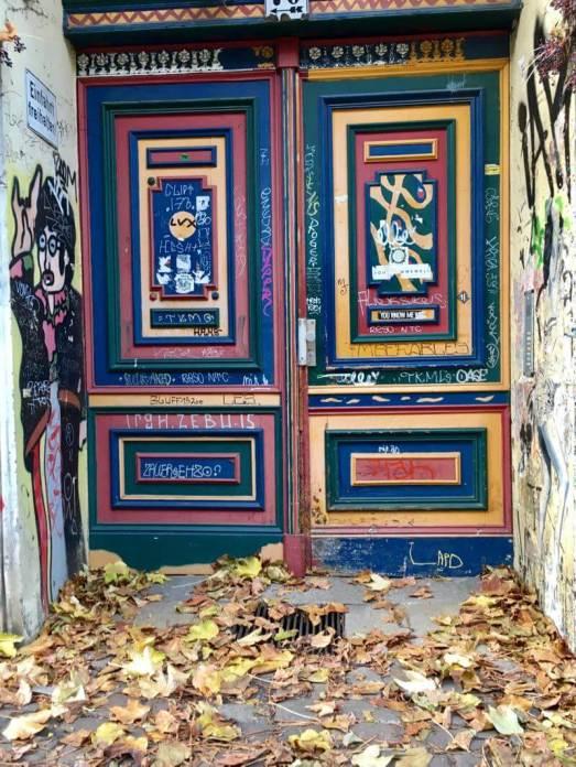 Berlin colorful door