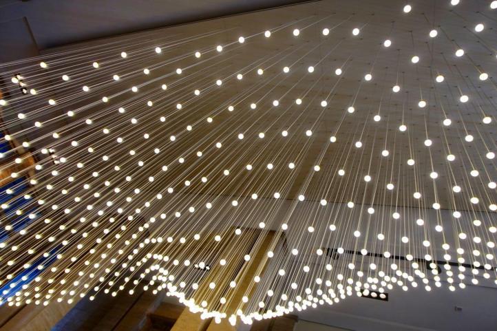 Das Stue lobby lights