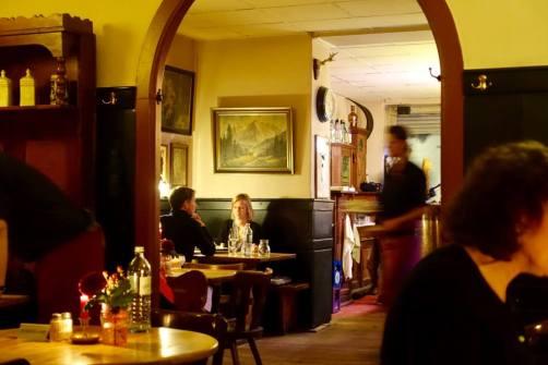 Restaurant Austria Kreuzberg dining room