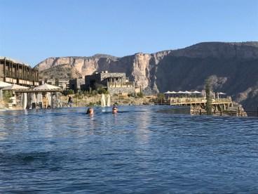 Alila Jabal Akhdar swimmers