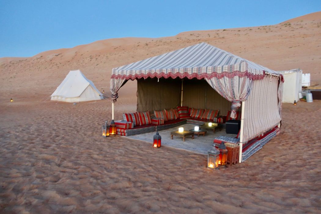 Canvas Club desert glamping