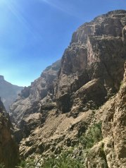 The canyon keeps going deeper and further for miles. Amazing that all of this is right under the hotel. A world away.