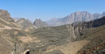 Oman Mountain Road