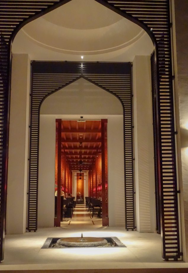 The Chedi Beach restaurant
