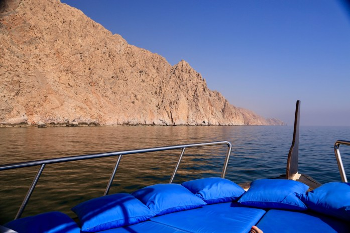 The mountains are the protagonist in Oman, no matter where you go.