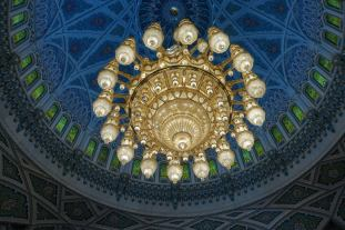 """When I read before about this gigantic chandelier, I though """"Well, okay."""" And that was it. But when you see it in person, you realize how amazing it is. Pictures do not do it justice. You got to go here."""