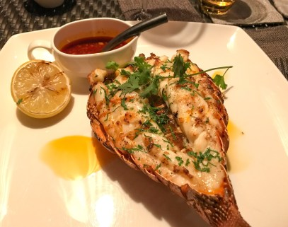 Omani lobster for the Kill.
