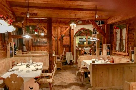 Restaurant Tubladel looks like most of the other alpine restaurants between here and Germany. But the food and service are top notch.