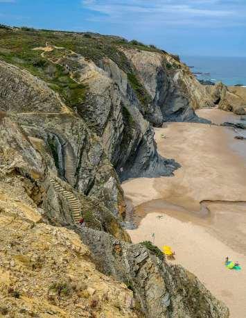 Praia dos Alteirinhos stairway