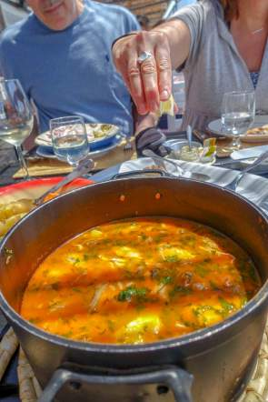 ...and always the perfect fish stew.