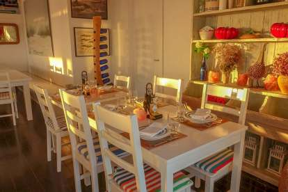Restaurant Sal Comporta tables