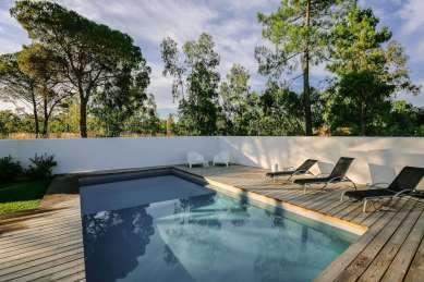 Brejos villa Comporta pool sunrise
