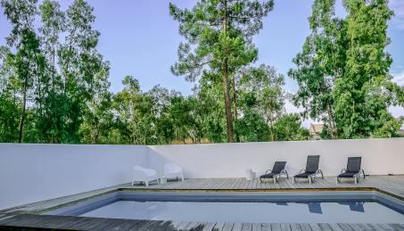 Brejos Villa Comporta afternoon pool