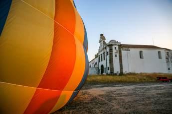 Balloon Monsaraz church