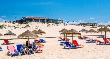 Pego Beach view of Sal