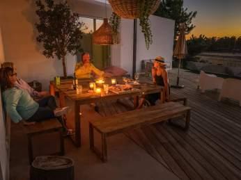 Brejos Villa alfresco dining