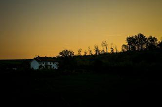 La Casa Gialla sunrise
