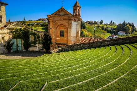 There is a stunning amphitheater at the top of the town, famous for its big draw of big names. There's a famous jazz festival each summer.