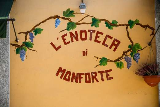 L'enoteca di Monforte sign