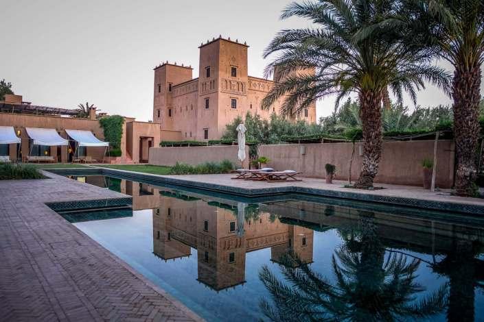 Dar Ahlam luxury hotel Skoura
