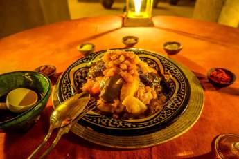This is, by far, the best tagine I had my whole trip -- and I had a LOT of tagines.