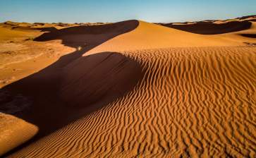 The desert crosses all of North Africa and is as big as China.