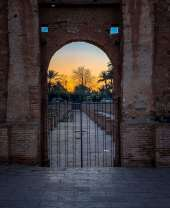 mosque gate Marrakesh