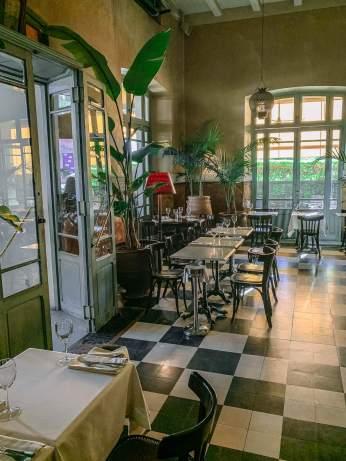Cafe de la Poste entrance