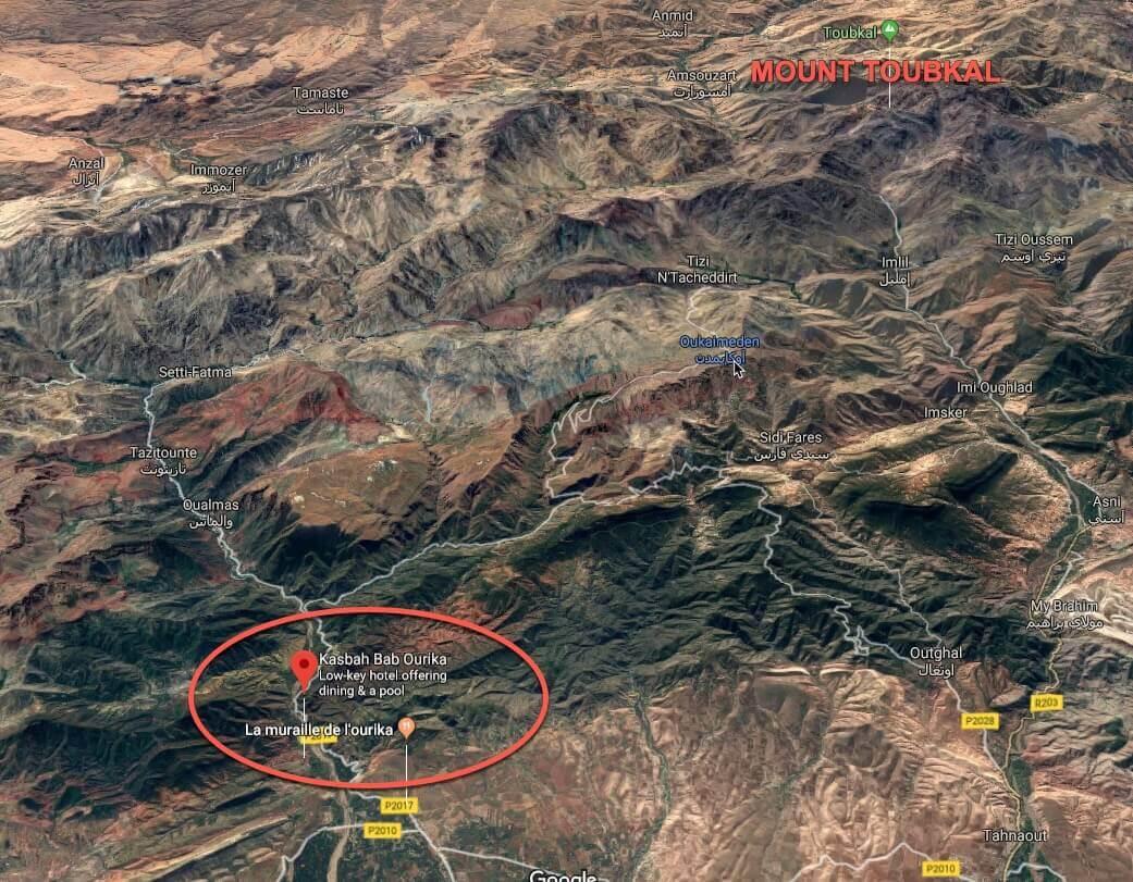 location Bab Ourika