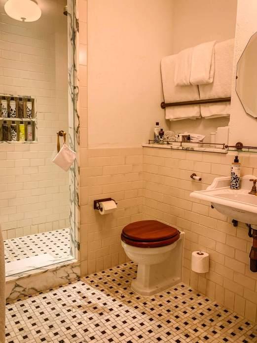 The Ned bathroom
