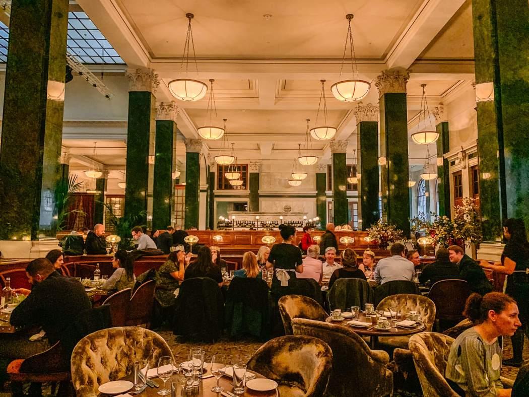 The Ned London Lillie's restaurant