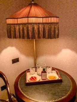 The Ned corner lamp