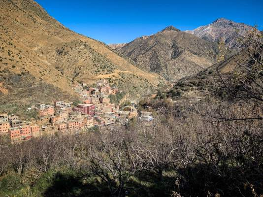 Hike to Setti Fatma Waterfalls