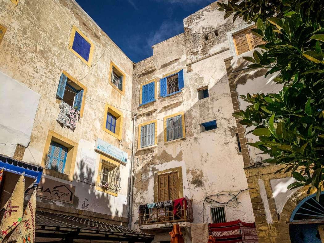 Essaouira Medina buildings