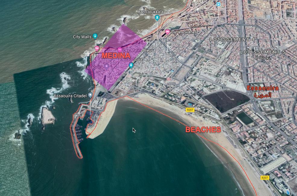 Essaouira Medina location on map