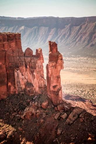 Gateway Canyons rock pinnacle