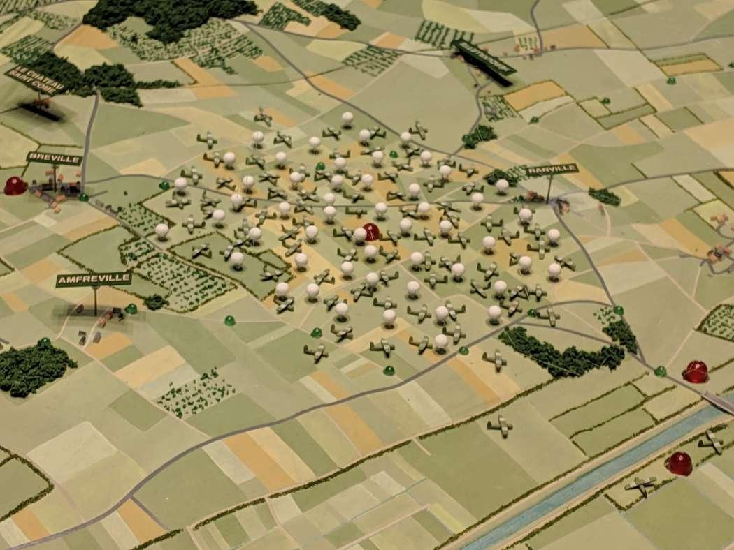 Pegasus Memorial glider map model