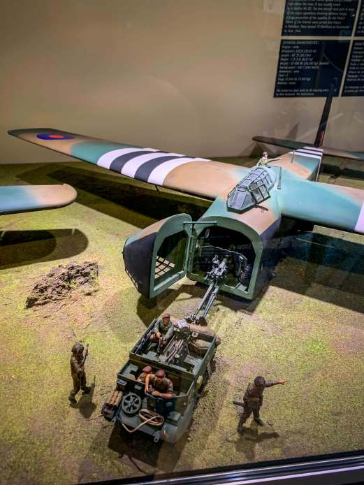 Inside, some gliders had troops, some loaded with men. Others, cannons. Built of plywood, many men were hurt or killed as the jeeps came loose on landing and flew forward inside the cabins.