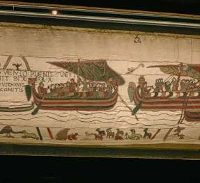 images of Bayeux Tapestry